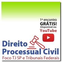 Processo Civil Artigo por Artigo para Escrevente TJ SP e Tribunais - Módulo 1