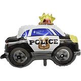 globo policia 60 cm desinflado apto helio