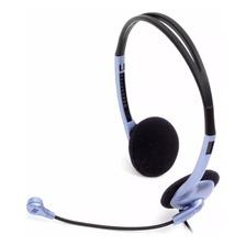 Auricular Con Microfono Genius Hs-02b Powerzon