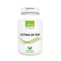Lecitina de Soja - 60 capsulas 500mg - Vital Natus