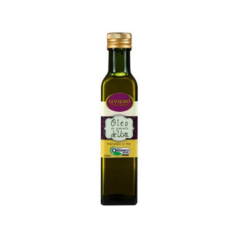 Oleo de Semente de Uva Organico 250ml - Uva'So
