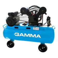 Compresor De Aire 100 L 3hp Bicilindrico Gamma Hot Sale