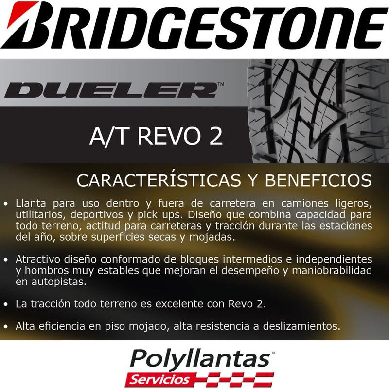 255-65 R17 108T Dueler At Revo 2  Bridgestone
