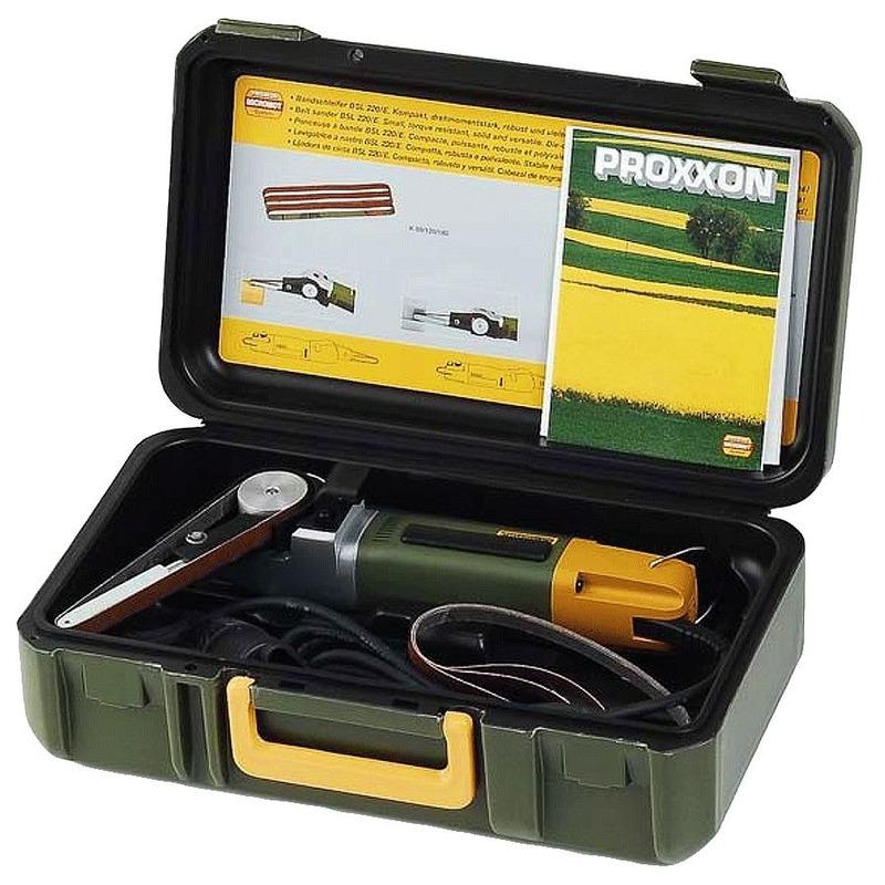 Mini Lixadeira de Fita BSL220/E - 28536 - Proxxon