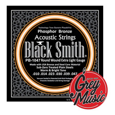 Encordado Acustica Black Smith Pb-1047 - 0.10/0.47