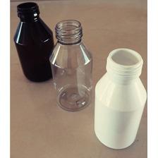 Envases Plásticos Pet 150 Ml Color C/ Tapa (100 Unidades)