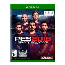 Pes 2018 | Xbox One | Fisico Sellado Original Nuevo