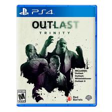 Outlast Trinity Ps4 Fisico Sellado Nuevo Original