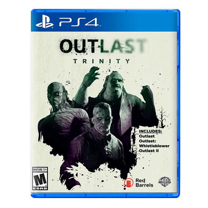 Outlast Trinity Ps4 Fisico Sellado Nuevo Original