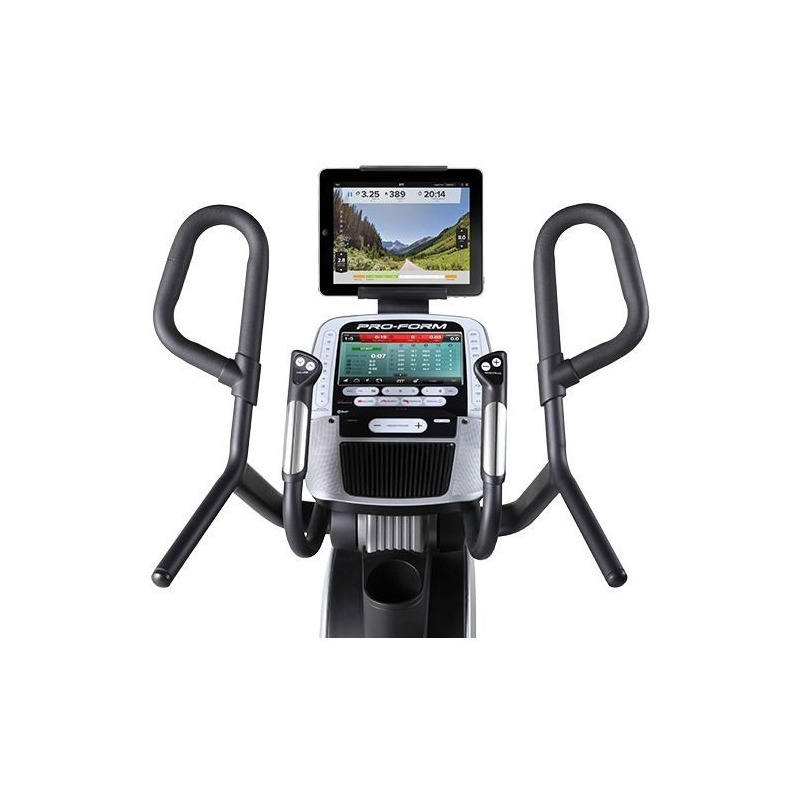 Escaladora Elíptica Hiit Trainer Pro, PROFORM Pantalla touch a color 10""