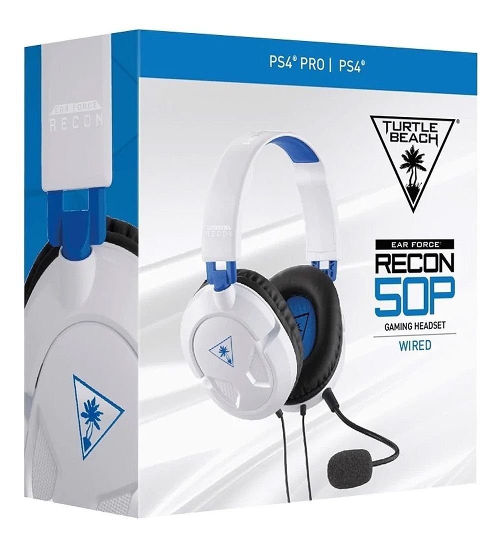 Auriculares Headset Gamer Turtle Beach Recon 50 Ps4 Xbox 3.5