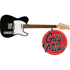 Guitarra Telecaster Jay Turser Jt-lt-bk Mango Rosewood Negra