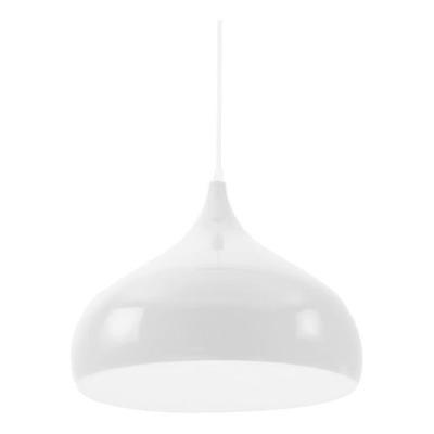 Colgante Moderno Proi 2 Luces Blanco Nordico Apto Led
