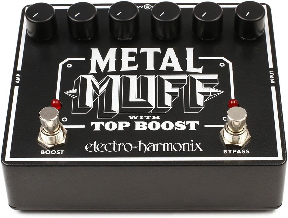 Pedal Electro Harmonix Big Muff Metal Muff Top Boost   Casa Libertella