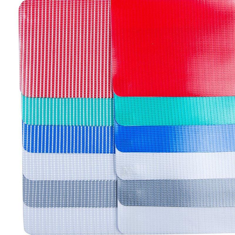 Lona para toldo Beti-Flex transparente vermelha (440 g) 1,40 m