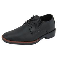Zapatos Negros Con Textura 017577