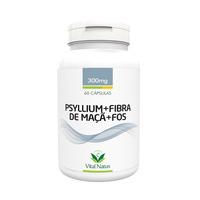 Psyllium+Fibra de Maca+FOS - 60 Caps. 300mg - Vital Natus