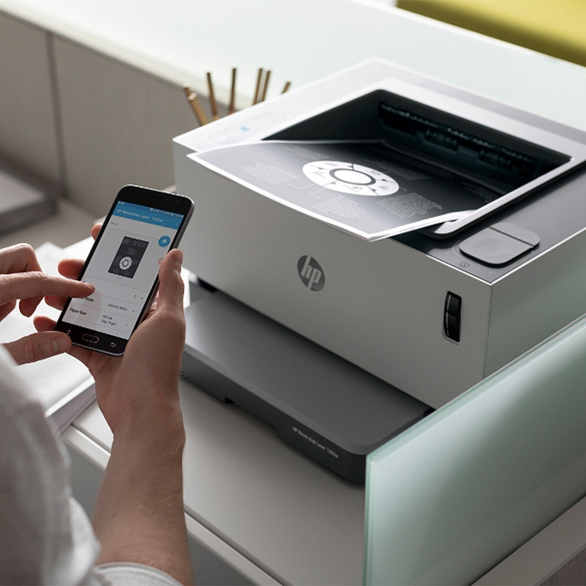 Impresora Laser Sistema Continuo Hp 1000w Neverstop Wifi Usb