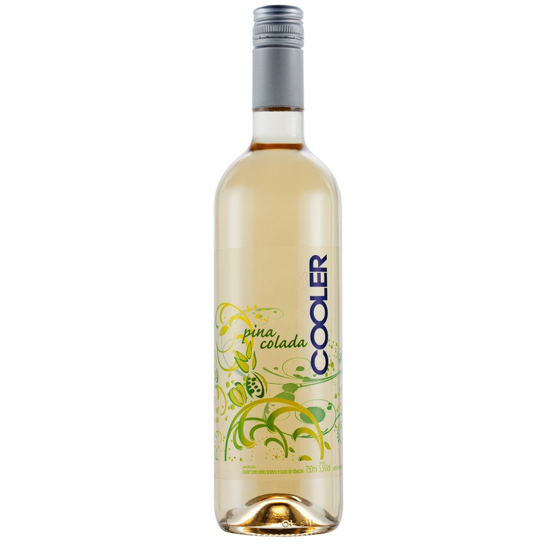 Cooler com Vinho Branco e suco Pina Colada (Abacaxi) 750ml - Góes