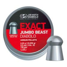 Balines Jsb Exact Jumbo Beast 5.5 Mm Aire Comprimido Caza