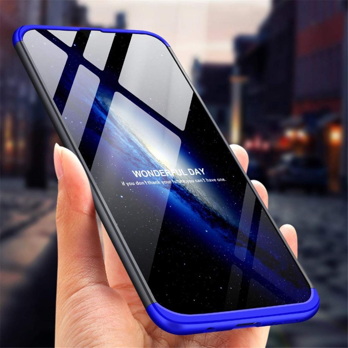 Funda Luxury 3 En 1 Antideslizante Samsung A30s A50 A50s