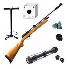 Rifle Aire Comprimido Fox Pcp + Inflador Fox + Mira Zoom