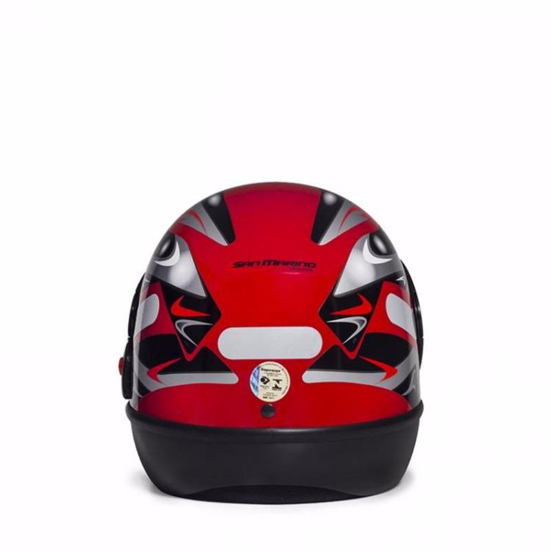 Capacete San Marino Vermelho