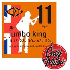 Encordado Rotosound Jk11 Para Guitarra Acustica 011