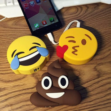 Cargador Portatil Powerbank Emoji 2600 Mah Android Ios