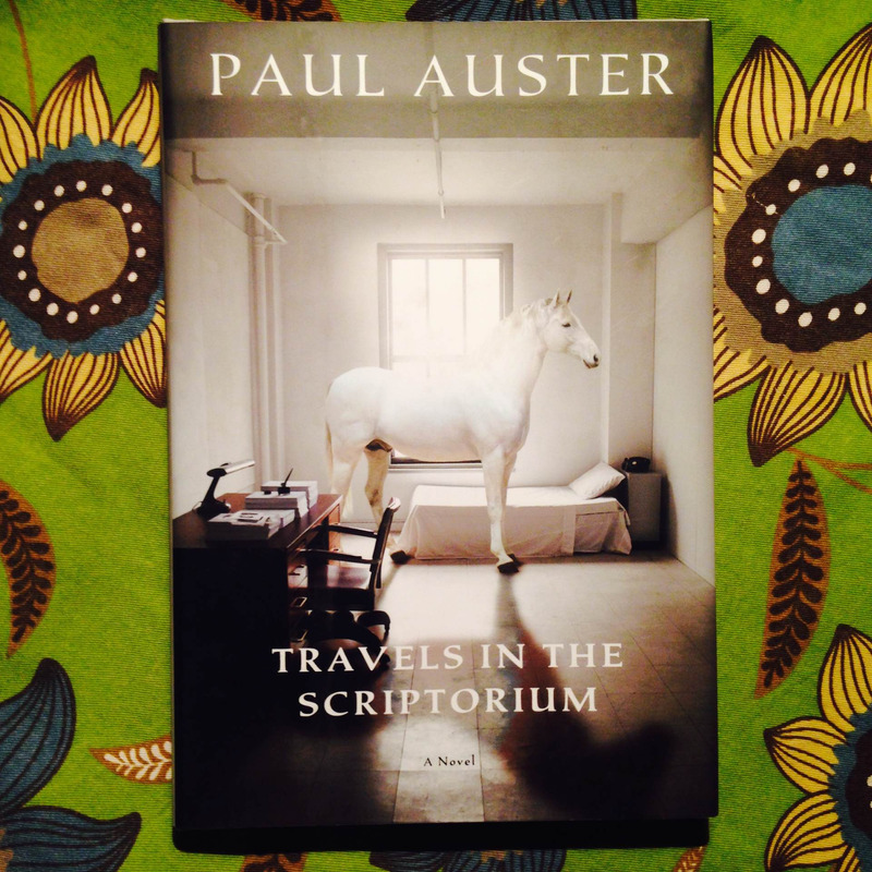 Paul Auster.  TRAVELS IN THE SCRIPTORIUM.