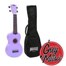 Ukelele Soprano Mahalo Mr1pp Violeta C/ Funda  - Grey Music