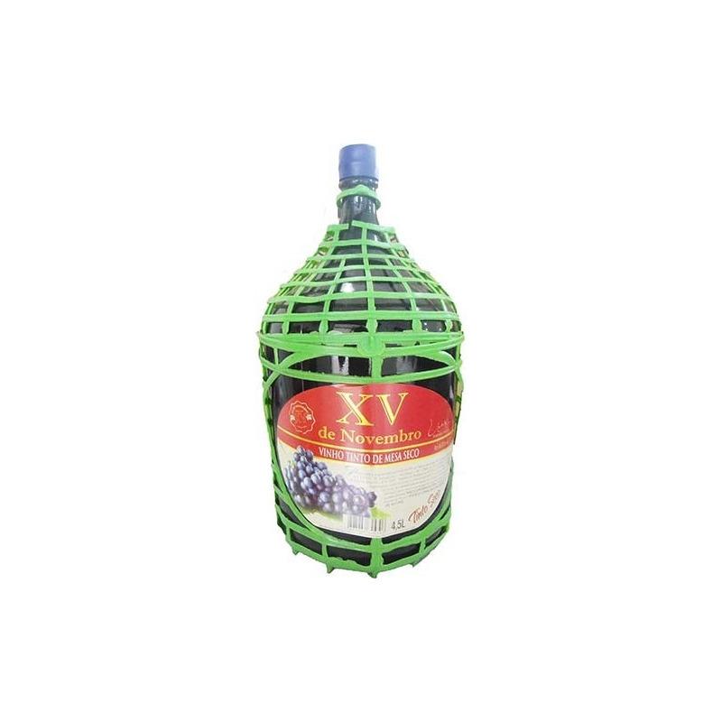 Vinho Tinto Seco Izabel/Bordô 4,5 L - XV de Novembro