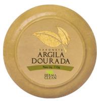Sabonete Redondo de Argila Dourada - 110g - DermaClean