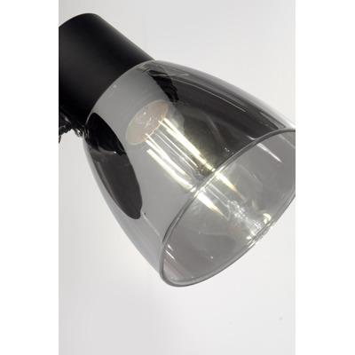 Aplique 1 Luz Enea Movil Acero Negro Led E27 Deco Moderno Lk