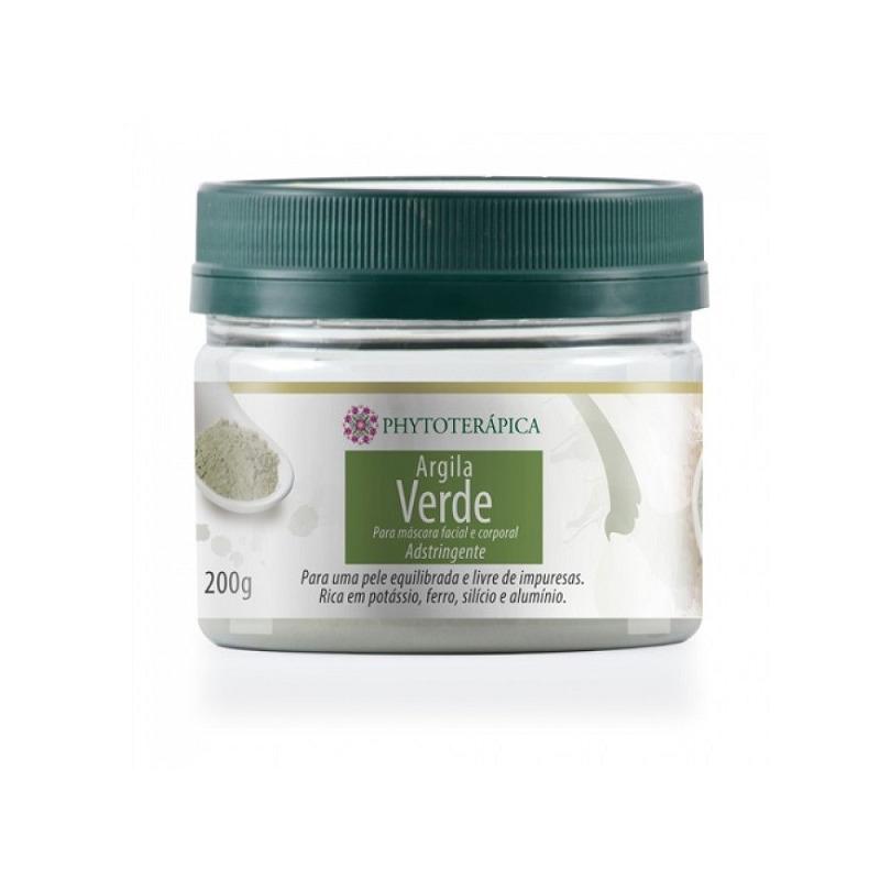 Argila Verde Adstringente (Kaolin) - 200g - Phytoterapica