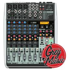 Mixer Behringer Xenyx Qx1204 Usb Consola De Sonido 8ch