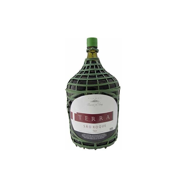 Vinho Terra São Roque Tinto Seco Izabel/Bordô 4,5 L - Real D'Ouro