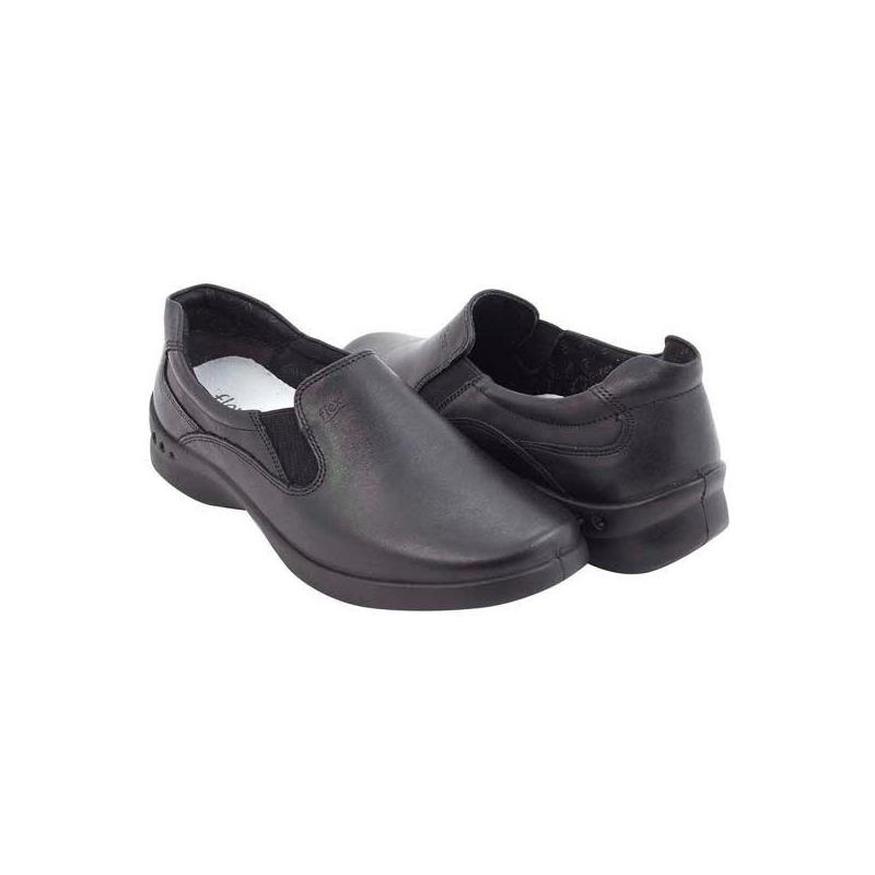 Mocasín Flexi negro piel F48301