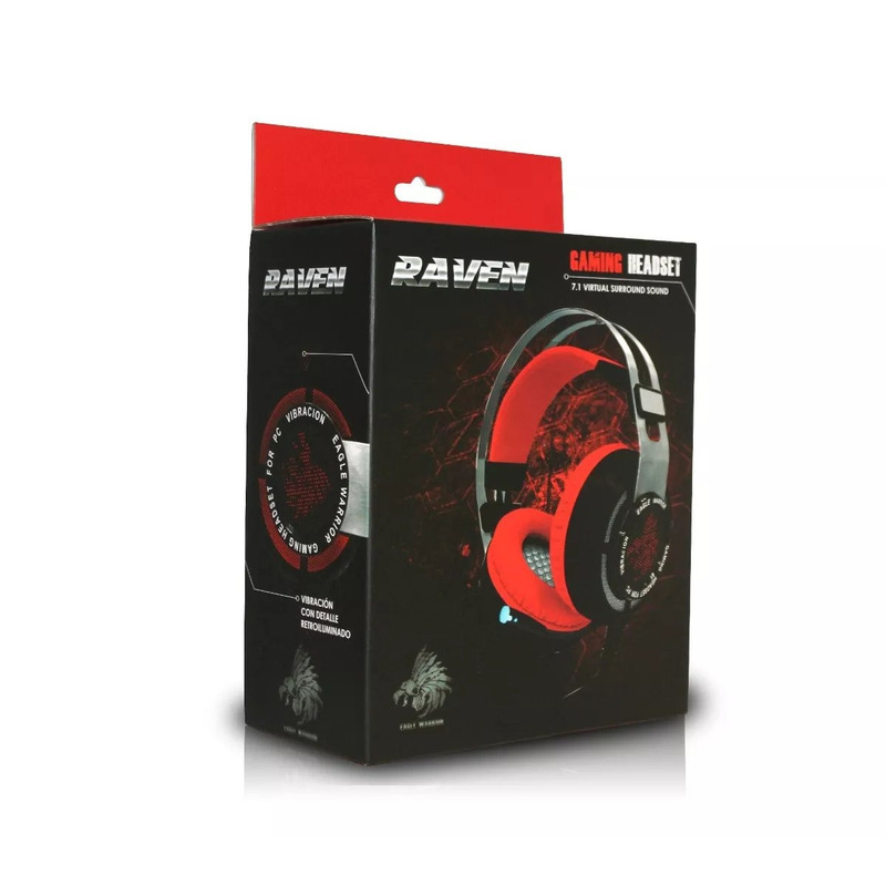Audifonos Eagle Warrior Raven Gaming Con Microfono