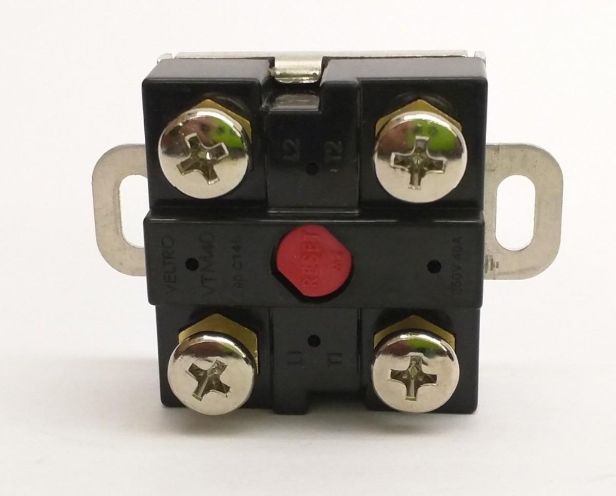 Termostato 40 AMP Termotronic DPST