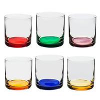 Jogo 6 Copos Coloridos 410ml Barware - Bohemia 7557730