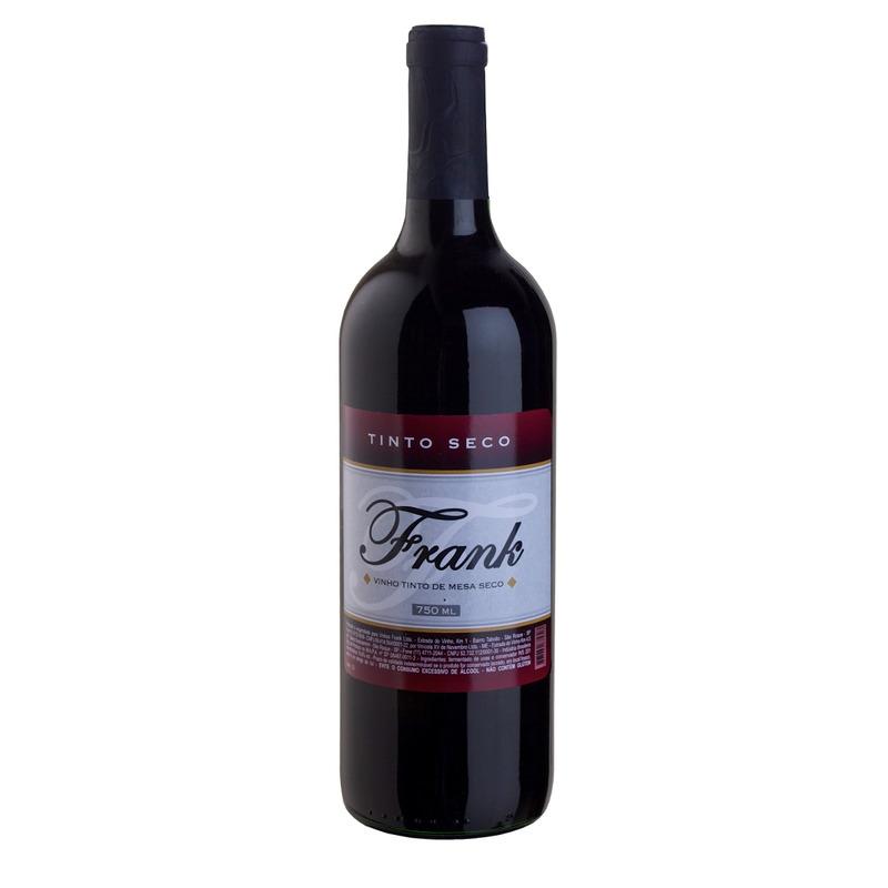 Vinho Tinto Seco Izabel/Bordô 750ml - Frank