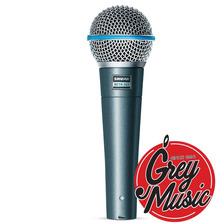 Shure Beta 58a Micrófono Vocal Dinámico - Grey Music -