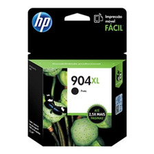 Cartucho Hp Original  904 Xl Negro 6970 T6m16al