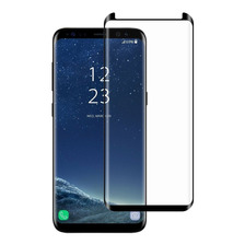 Glass Vidrio Templado Samsung Note 8 Edge 3d Curvo Compatibl