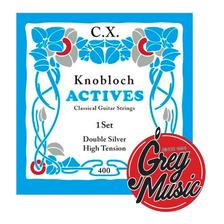 Encordado Clasica Knobloch Cx400 Double Silver High Tension