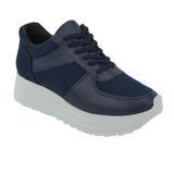 Sneakers Marino Con Suela Blanca 020976