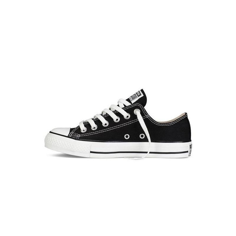 Sneakers Converse negros agujetas VM9166
