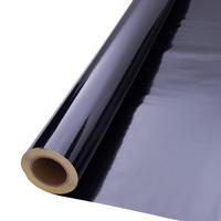 Vinil adesivo refletivo preto (grau comercial) larg. 1,22 m