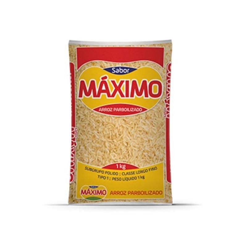 Arroz Parbolizado - 1kg - Maximo
